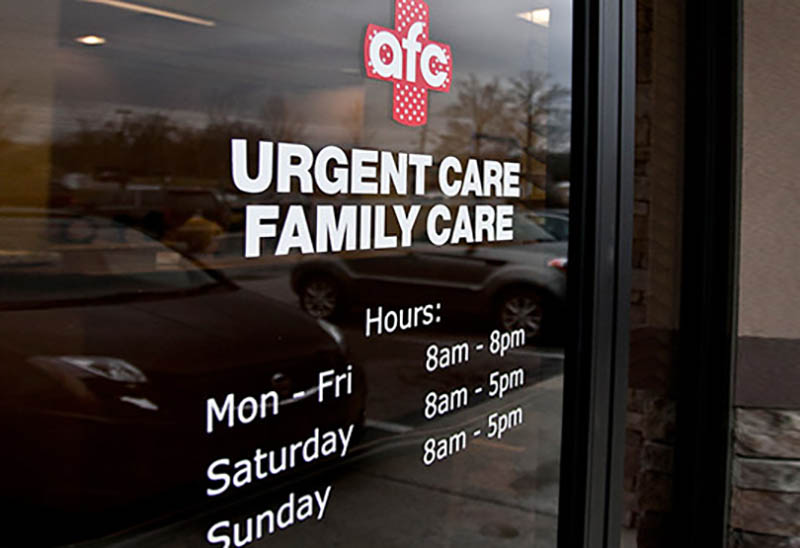 AFC Urgent Care Hours